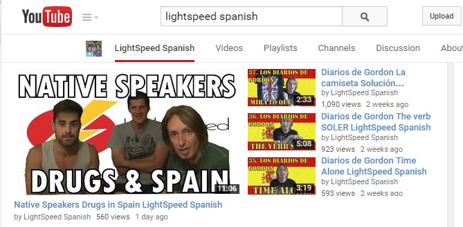 LightSpeed Spanish YouTube